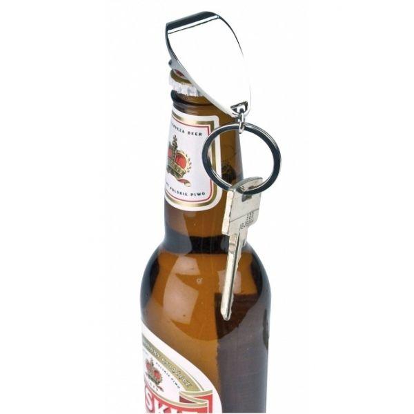 Metal bottle opener/key ring Hastings