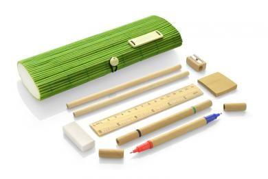 Bambusest pinalikomplekt