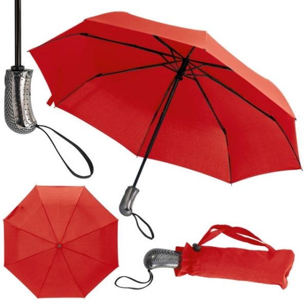 Umbrella with storm function