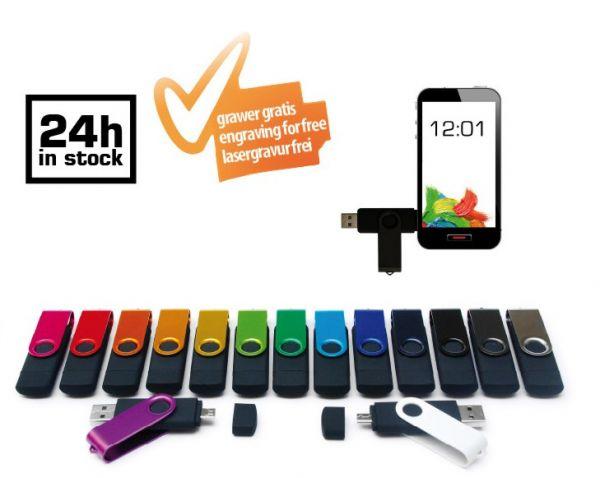 Plastic-metal USB smart