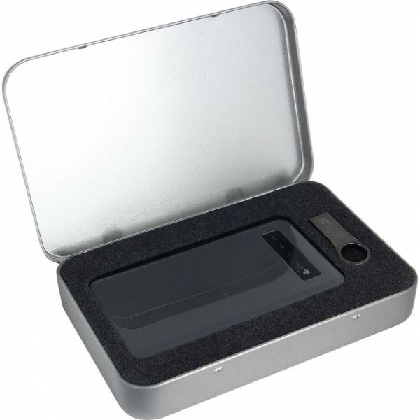 Set EG S30 - Pendrive Silicon Power F80 8 GB EG + Power Bank 4500mAh EG 7771MC