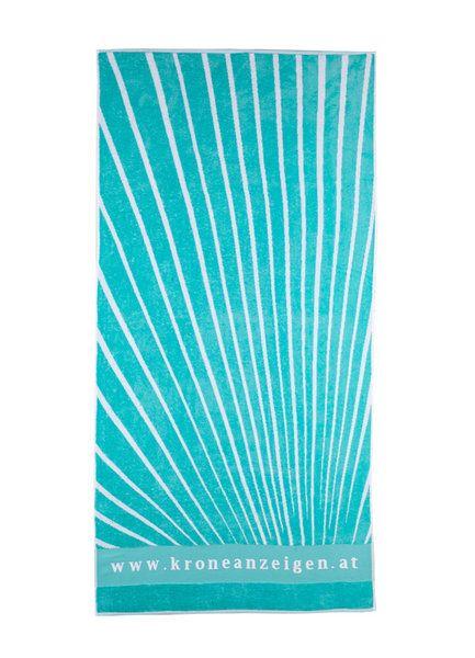 Sissekootud logoga saunalina