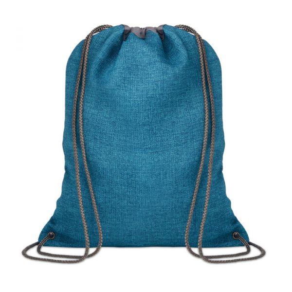 1200D heathered drawstring bag