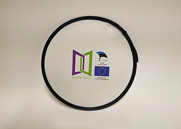 Frisbee trükiga