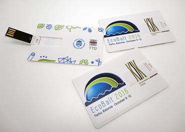 Krediitkaardikujuline mälupulk C47C