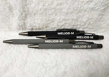 Pastapliiats Melior-M logoga