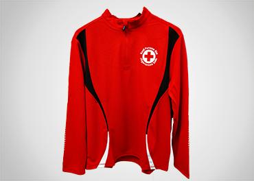 Spordisärk Punase Risti logoga